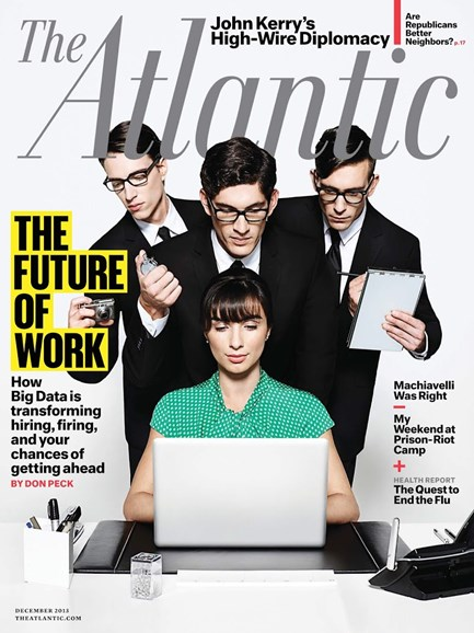 The Atlantic Cover - 12/1/2013