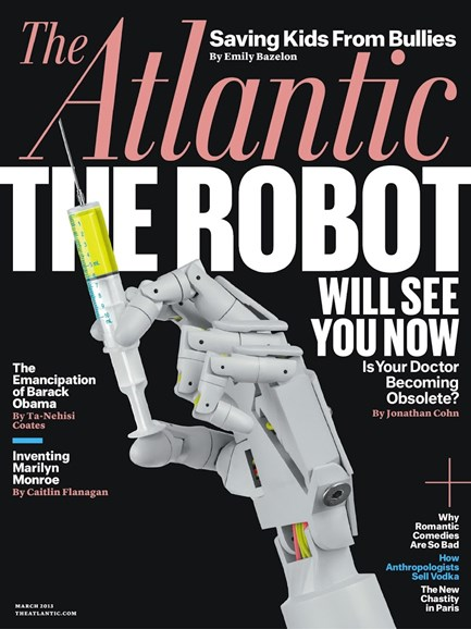 The Atlantic Cover - 3/1/2013