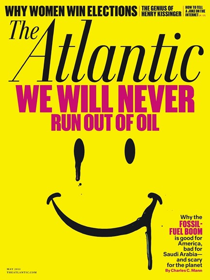 The Atlantic Cover - 5/1/2013