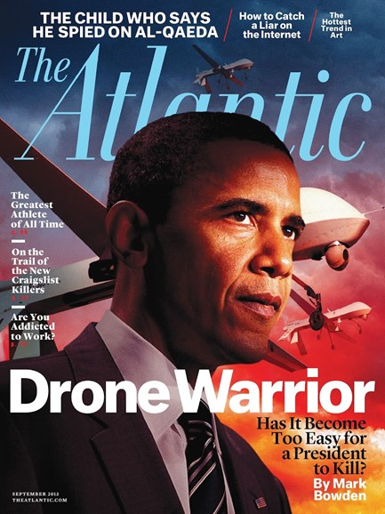 The Atlantic Cover - 9/1/2013