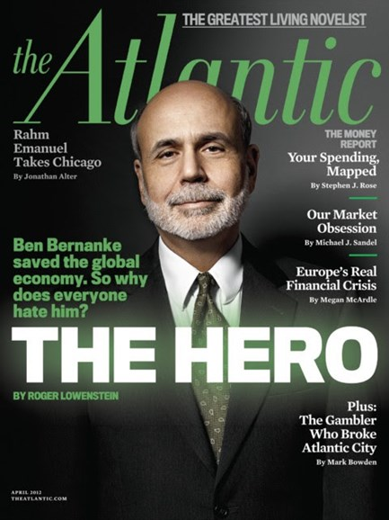 The Atlantic Cover - 4/1/2012