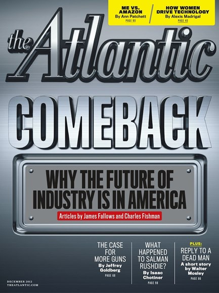 The Atlantic Cover - 12/1/2012