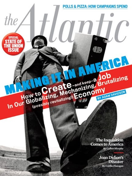 The Atlantic Cover - 1/1/2012