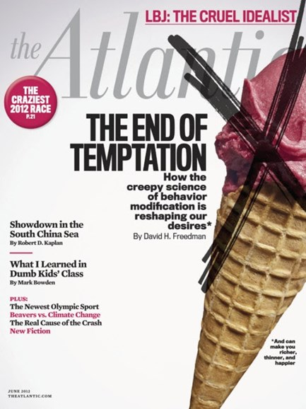 The Atlantic Cover - 6/1/2012