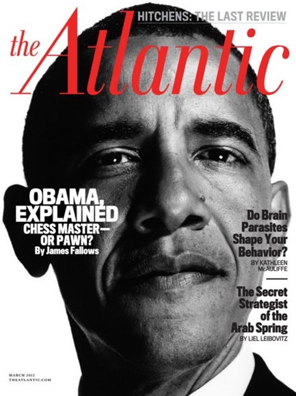 The Atlantic Cover - 3/1/2012