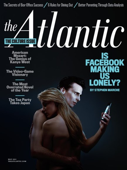 The Atlantic Cover - 5/1/2012