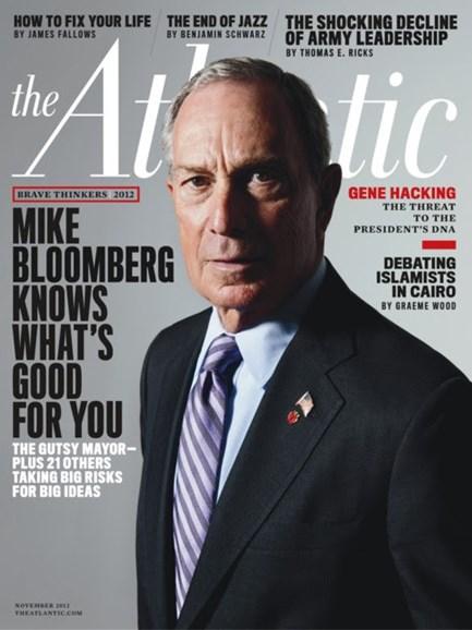 The Atlantic Cover - 11/1/2012