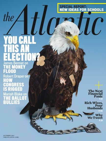 The Atlantic Cover - 10/1/2012