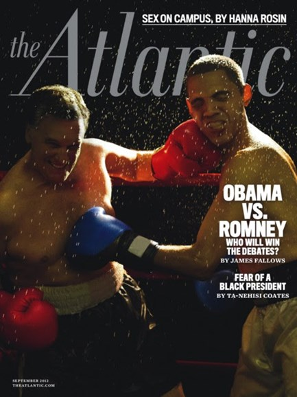 The Atlantic Cover - 9/1/2012