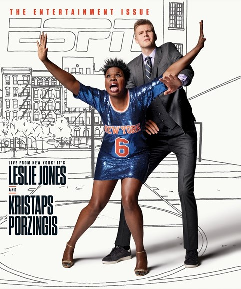 ESPN The Magazine Cover - 2/27/2017