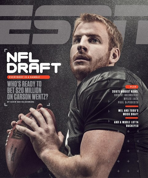 ESPN The Magazine Cover - 4/25/2016