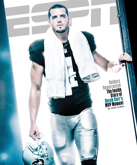ESPN The Magazine Cover - 12/12/2016