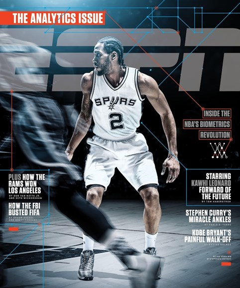 ESPN The Magazine Cover - 2/29/2016