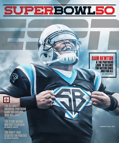 ESPN The Magazine Cover - 2/8/2016