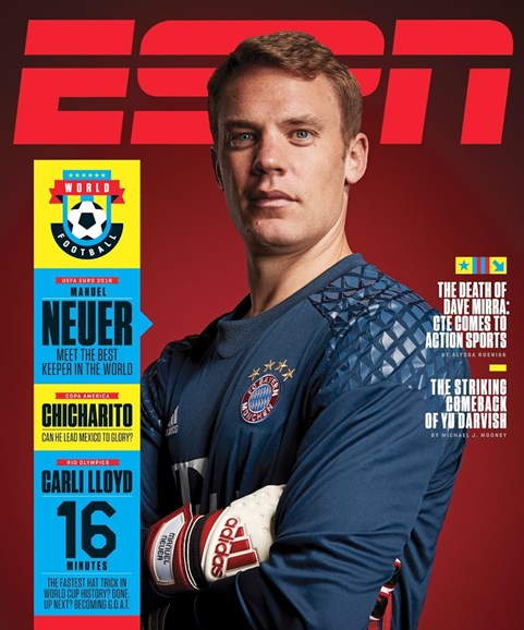 ESPN The Magazine Cover - 6/6/2016
