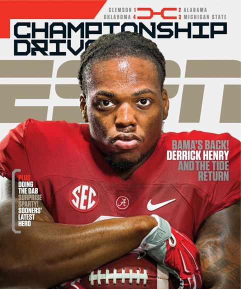 ESPN The Magazine Cover - 1/4/2016