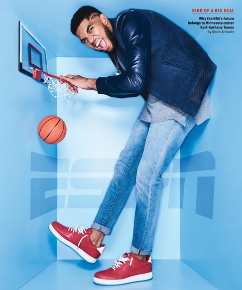 ESPN The Magazine Cover - 11/28/2016