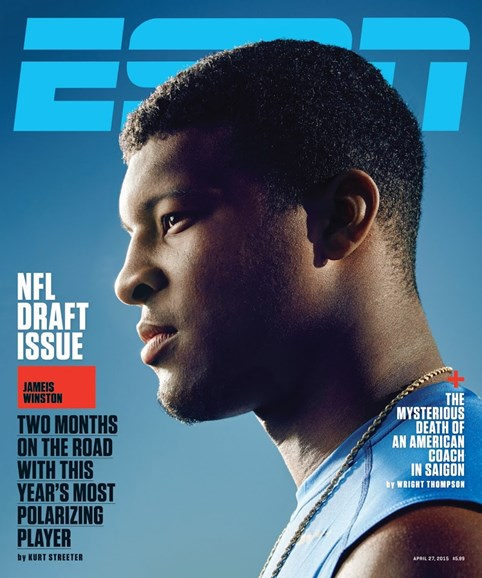 ESPN The Magazine Cover - 4/27/2015