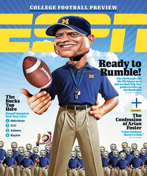 ESPN The Magazine Cover - 8/17/2015