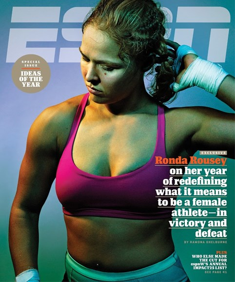 ESPN The Magazine Cover - 12/21/2015