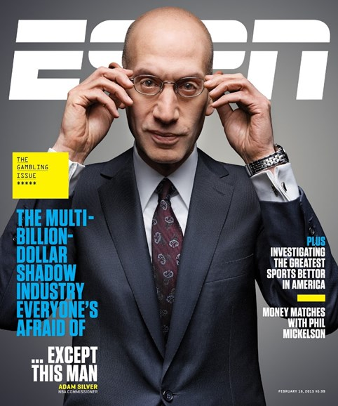 ESPN The Magazine Cover - 2/16/2015