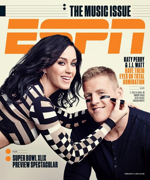 ESPN The Magazine Cover - 2/2/2015