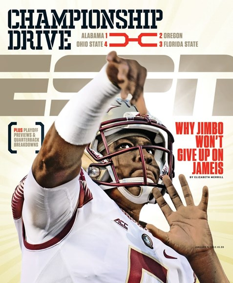 ESPN The Magazine Cover - 1/5/2015