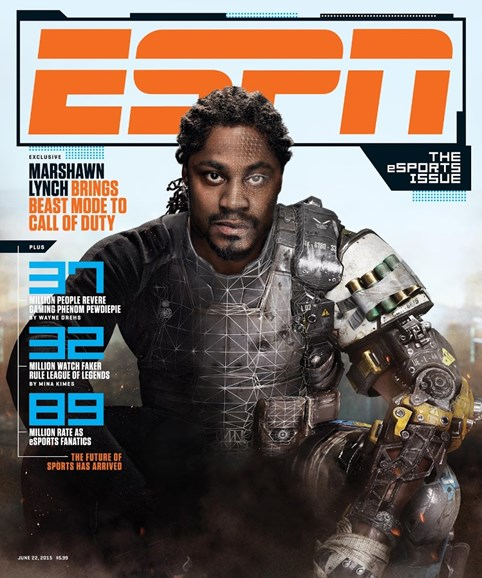 ESPN The Magazine Cover - 6/22/2015