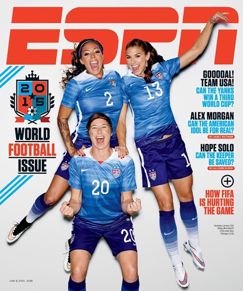 ESPN The Magazine Cover - 6/8/2015
