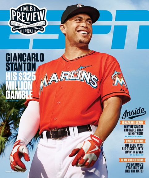 ESPN The Magazine Cover - 3/30/2015