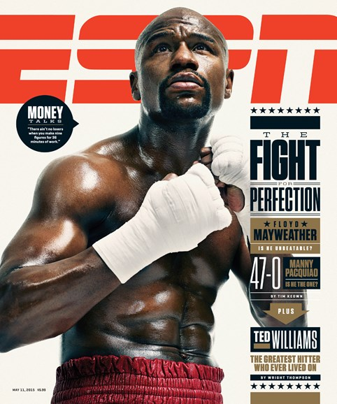 ESPN The Magazine Cover - 5/11/2015