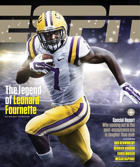ESPN The Magazine Cover - 11/9/2015