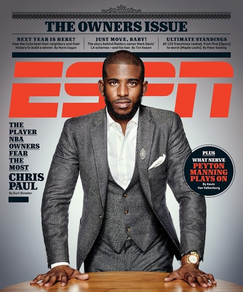 ESPN The Magazine Cover - 10/12/2015