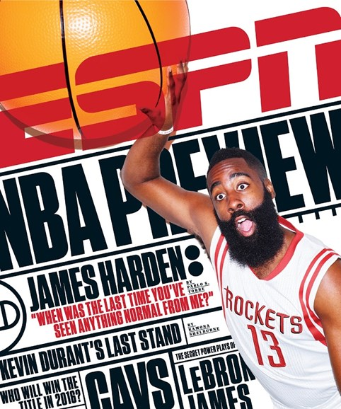 ESPN The Magazine Cover - 10/26/2015