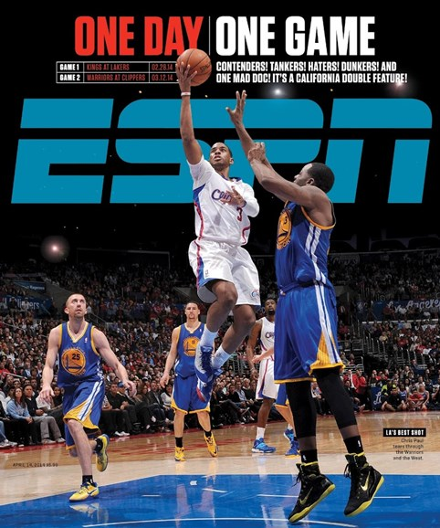 ESPN The Magazine Cover - 4/14/2014