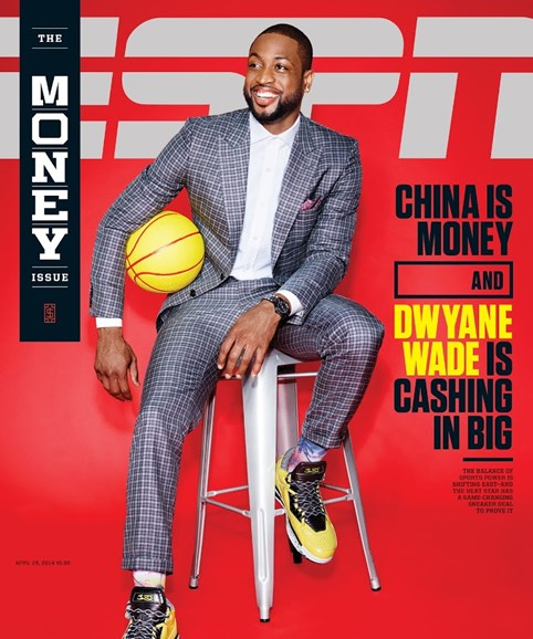ESPN The Magazine Cover - 4/28/2014