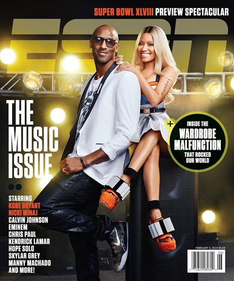 ESPN The Magazine Cover - 2/3/2014