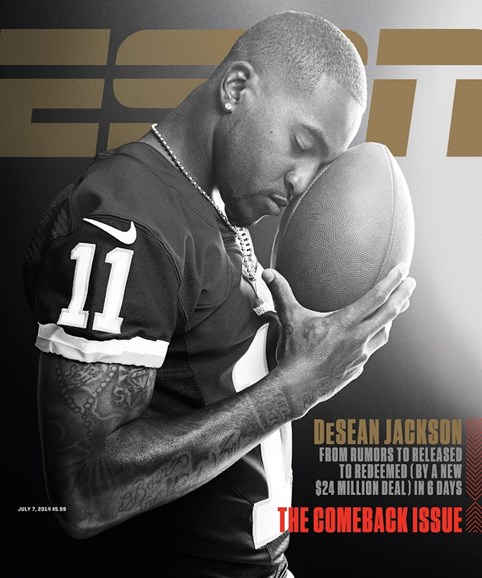 ESPN The Magazine Cover - 7/7/2014