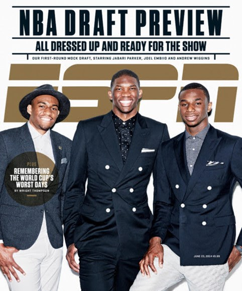 ESPN The Magazine Cover - 6/23/2014