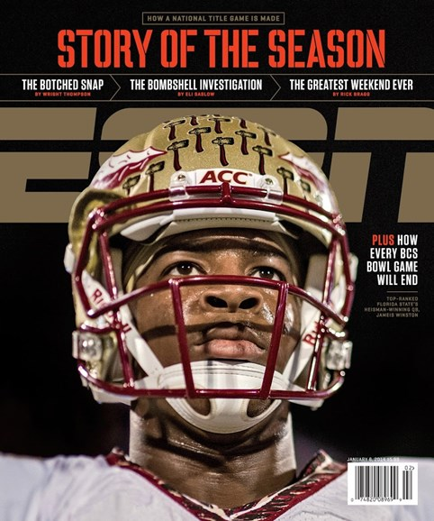 ESPN The Magazine Cover - 1/6/2014