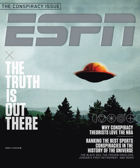 ESPN The Magazine Cover - 3/17/2014