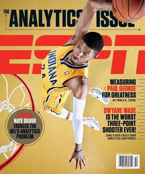 ESPN The Magazine Cover - 3/3/2014