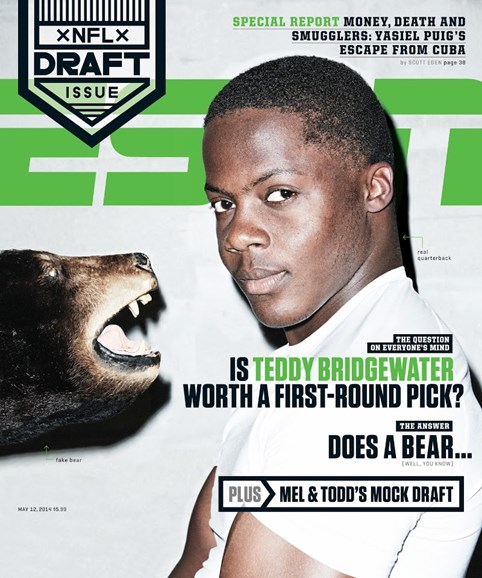 ESPN The Magazine Cover - 5/12/2014