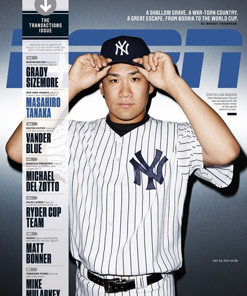 ESPN The Magazine Cover - 5/26/2014