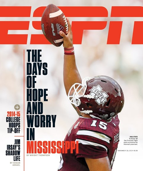 ESPN The Magazine Cover - 11/10/2014