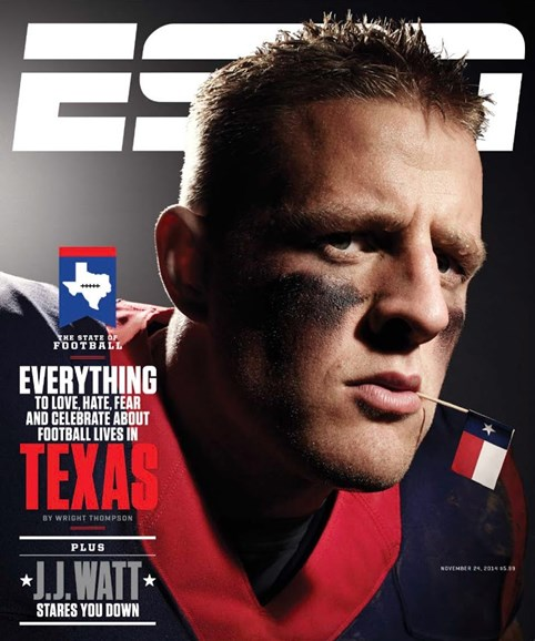 ESPN The Magazine Cover - 11/24/2014