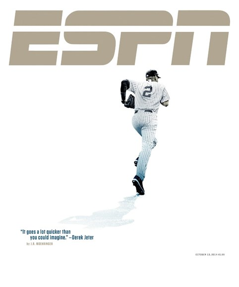 ESPN The Magazine Cover - 10/13/2014