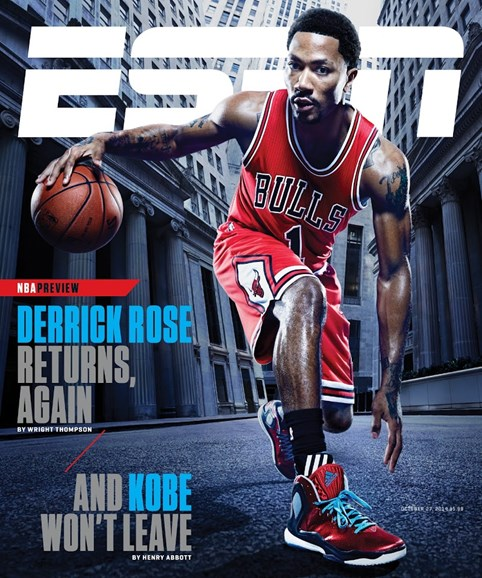 ESPN The Magazine Cover - 10/27/2014
