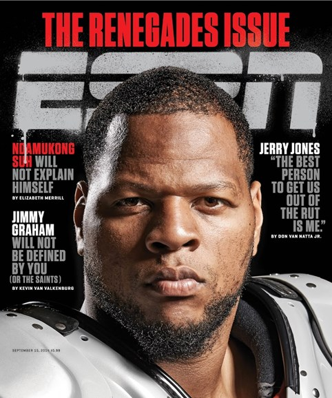ESPN The Magazine Cover - 9/15/2014