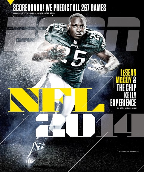 ESPN The Magazine Cover - 9/1/2014